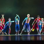 BYU dancers perform with the Beijing Dance Academy.